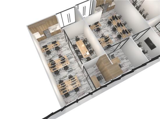 时代金融中心大厦定制装修办公室