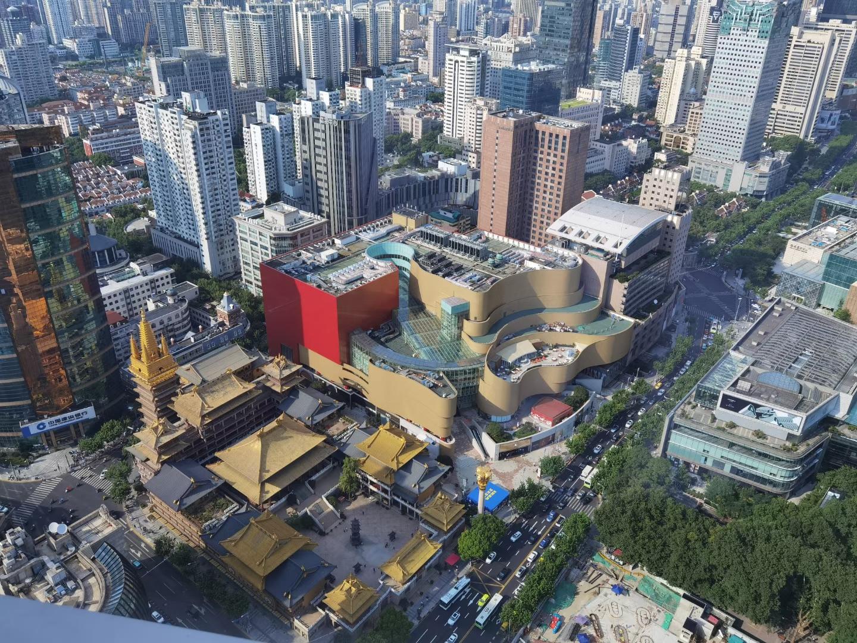 会德丰国际广场半层955平写字楼出租