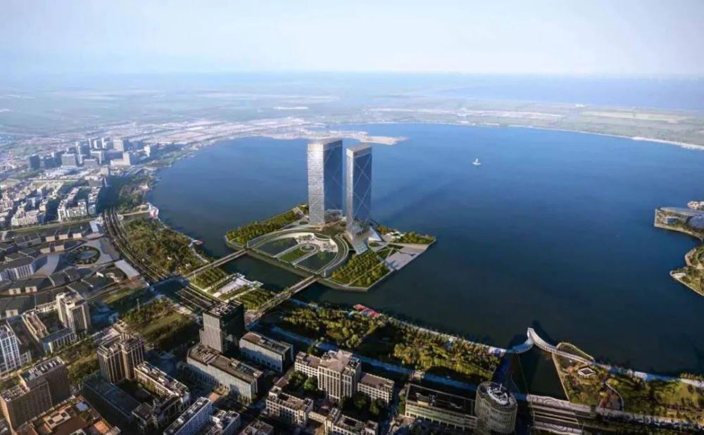 临港中国银行大厦即将面世,临港金融中心即将建成