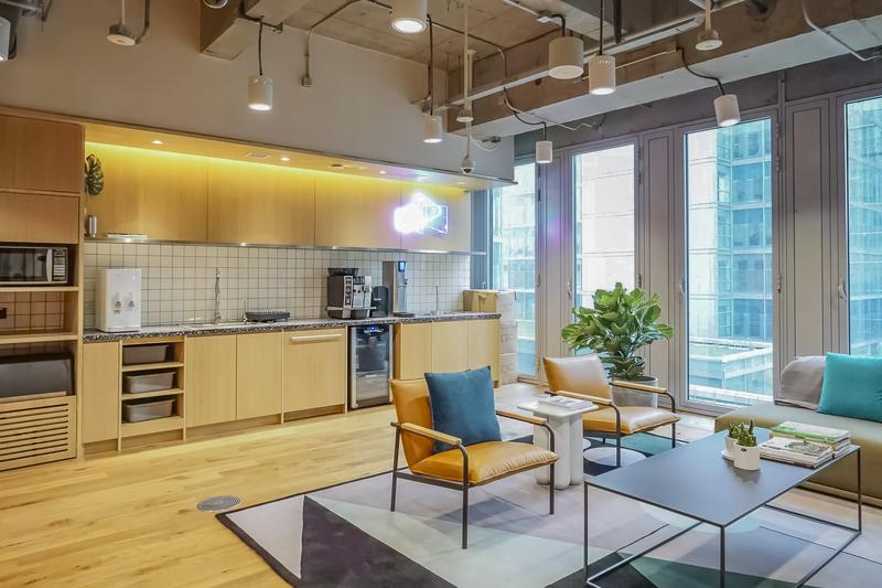 上海建发国际大厦联合办公